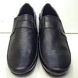 Р. 47 Мужские кожаные туфли/мокасины (большой размер), фото 2