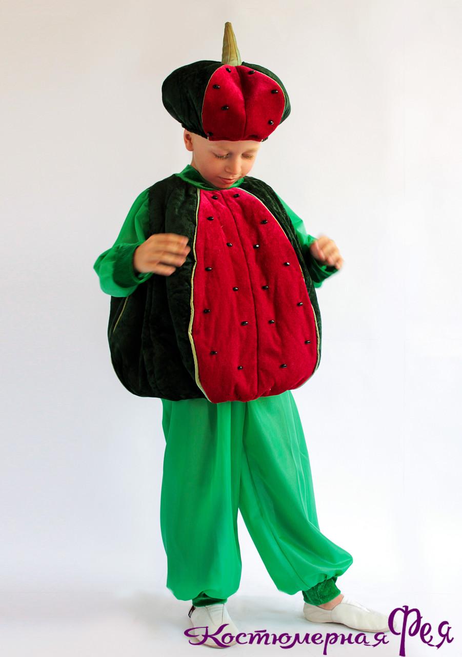 Арбуз (кавун), карнавальный костюм на праздник Осени (код 83/1)