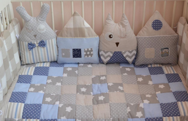 Захист в дитячу ліжечко на 4 сторони.