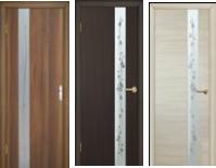 Модельные полотна ламинированные финиш пленкой с художественным травлением по стеклу и фьюзингом