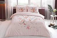 TAC Евро комплект постельного белья сатин Martha pembe