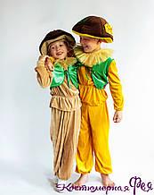 Грибок, гриб, карнавальный костюм для мальчика (код 90/10)