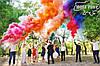 Фантастична весільна фотосесія з кольоровим димом