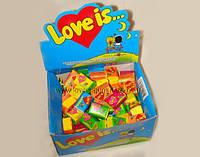 Love is  Ассорти с 5-ти вкусов love is 100шт