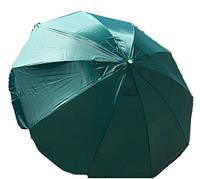 Зонт садовый, зонт торговый, зонт пляжный, зонт круглый с клапаном 3 м (16 спиц)
