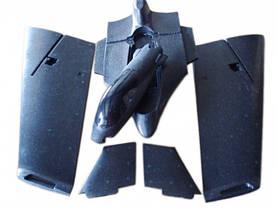 Летающее крыло Skywalker Falcon 1340мм KIT (черный), фото 3