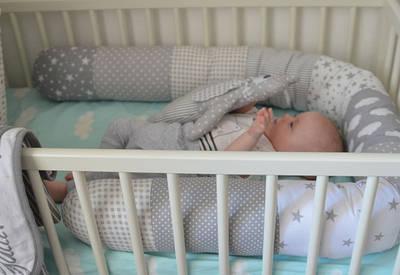 Комплекти в дитячу ліжечко. (Постільна,захист і т. д.)