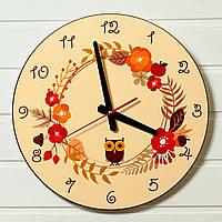 "Часы настенные - ""Осень"" (на пластике)"