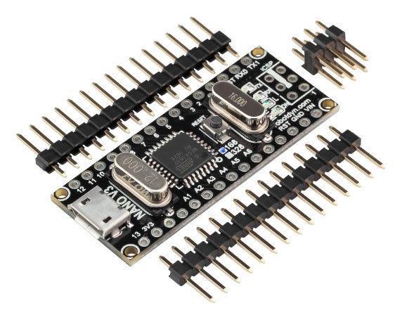 Arduino NANO V3.0 ATmega168/CH340G micro USB
