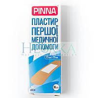 Пластырь первой медицинской помощи 72мм*19мм (10шт/уп) Pinna