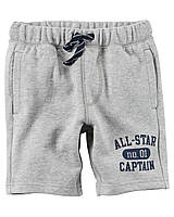 Шорты Carters на мальчика 4-8 лет Pull-On French Terry Shorts
