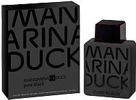 Mandarina Duck Pure Black туалетная вода 100 ml. (Мандарина Дак Пурэ Блэк Мен)