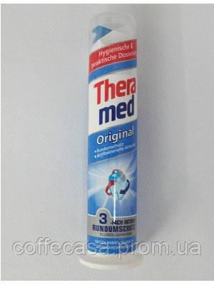 Theramed зубная паста Original с дозатором.