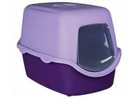 TRIXIE Vico, туалет для кошек фиолет-сирень, 40х40х56см