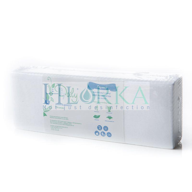 Полоски для депиляции нарезные в пластах (100 шт/уп) Doily