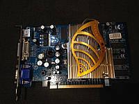 ВИДЕОКАРТА Pci-E GEFORCE 6600 на 256 MB с ГАРАНТИЕЙ ( видеоадаптер 6600 256mb  )