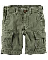 Шорты Carters на мальчика 4-8 лет Olive Cargo Shorts