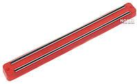 Магнитный держатель для ножей, 33 см Красный