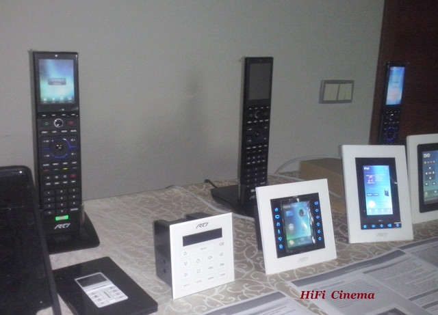 Control panel AMX, RTI, URC, Elan, NuVo