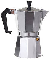 Гейзерная кофеварка для плиты на 6 чашек