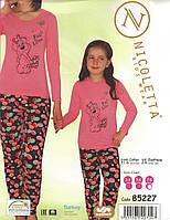 Пижама для девочки  с собачкой Nicoletta 85227