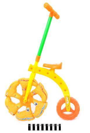 Каталка - колесо (палочка, кульок) 3627( Ч )