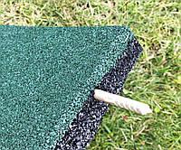 Резиновая плитка для детской площадки 25 мм, фото 1