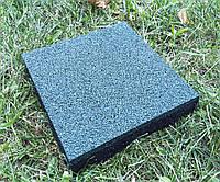 Резиновые полы, плитка 500х500х25 мм.