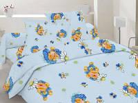 Комплект постельного детского белья бязь - 10-0065 Blue