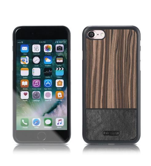 Чохол Remax Mugay iPhone 7 Black wood apricot