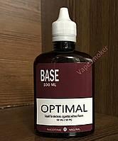 Готовая база 0 mg/ml 100 ml Optimal
