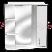 З-02 зеркало для ванной с полкой