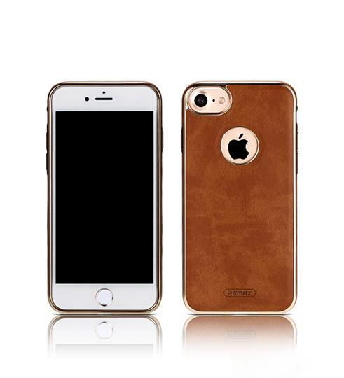 Чохол Remax Beck iPhone 7 Brown