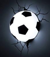 Ночник 3D football light светильник футбольный мяч, фото 1