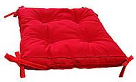 Подушка на стул COLOR красная 40х40
