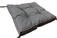 Подушка на стул COLOR серая 40х40