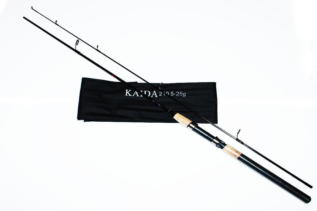 Спиннинг Kaida 2.4 м. (тест 5-25)