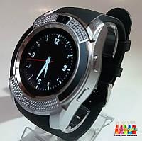 Смарт Часы Smart Watch V8 Черный с серебром