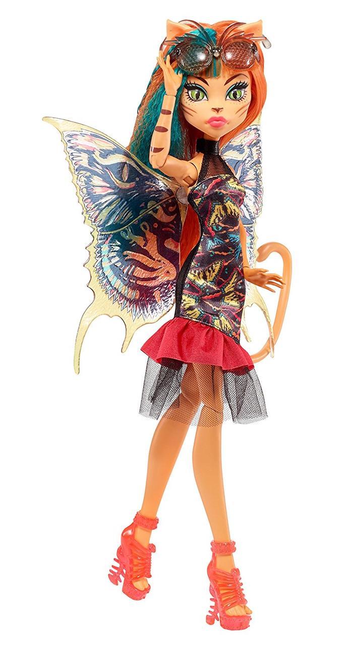 Monster High Garden Ghouls Wings Toralei  Монстер хай Торалей серия Садовые монстры
