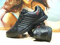 Мужские кроссовки Adidas Daroga (реплика) черные 45 р., фото 1