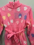 Теплая кофта для девочки 110 см, фото 2