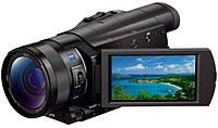 Цифр. видеокамера 4K Flash Sony Handycam FDR-AX100 Black &lt,укр&gt,