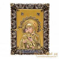 Икона Божией Матери Владимирская 10х13см