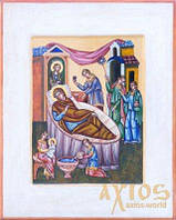 Икона Рождество Пресвятой Богородицы 30х37,5 см