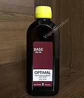 Готовая база 0 mg/ml 250 ml Optimal