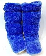 Махровые домашние женские сапожки- готовимся к холодам!