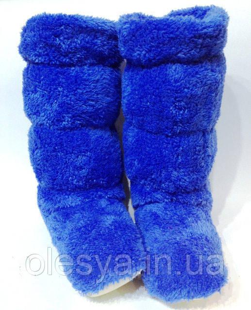 Махровые домашние женские сапожки- теплый подарок близким к Новому году!! - Интернет - магазин Олеся в Каменском