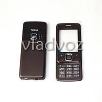 Корпус Nokia 6300 коричневый с клавиатурой class AAA