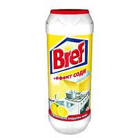"""Порошок чистящий с эффектом соды 500 грамм """"Лимон"""" Бреф"""
