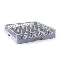Корзина для посудомоечной машины мойки стекла 16 ячеек Hendi